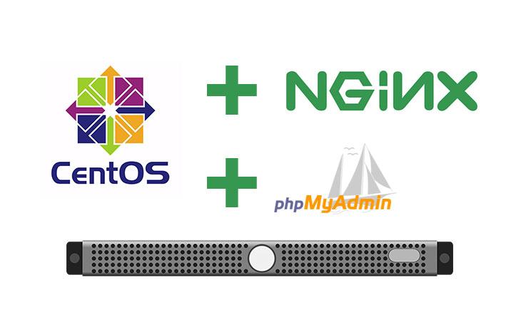 Nginx-CentOS7-phpMyAdmin