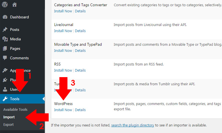 How to Export or Import XML WordPress Content | Probewise