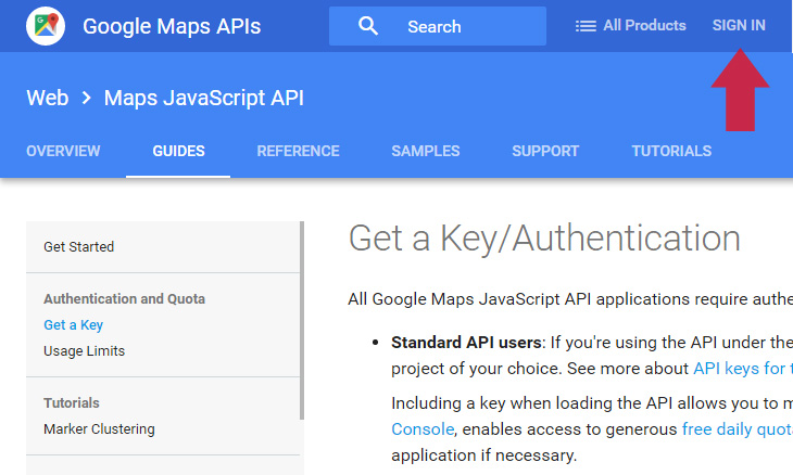 How To Get Google Maps Javascript Api Key Probewise